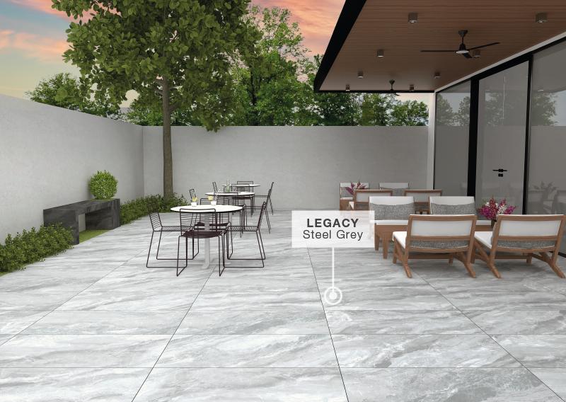 Anti slip tiles in cafes and restaurants